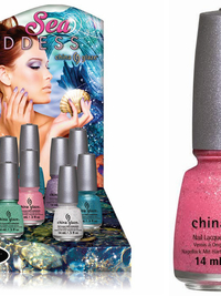 China Glaze Sea Goddess Spring 2014 Nail Polish Collection