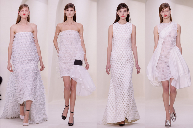 Christian Dior Spring 2014 Couture Collection Set  (12)