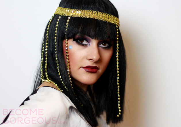 Cleo De Nile Tutorial For Halloween