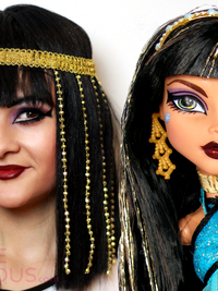 Cleo de Nile Monster High Makeup Tutorial