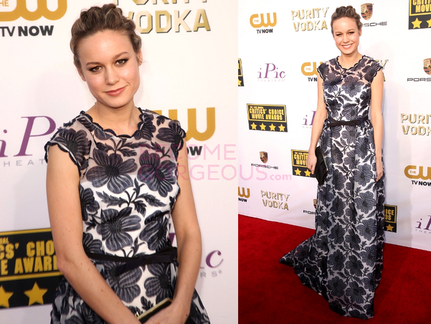 Brie Larson 2014 Critics Choice Awards