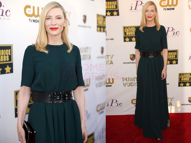Cate Blanchett 2014 Critics Choice Awards
