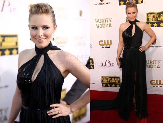 Kristen Bell 2014 Critics Choice Awards