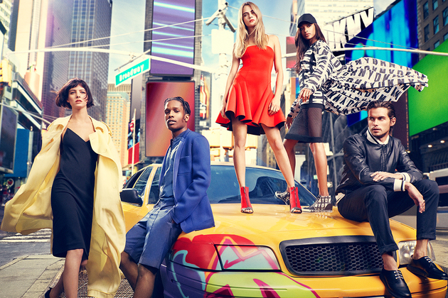 Dkny Spring Summer 2014 Campaign