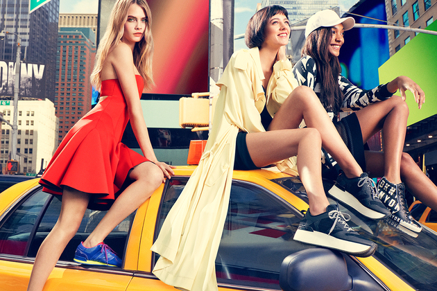 Dkny Summer 2014 Campaign