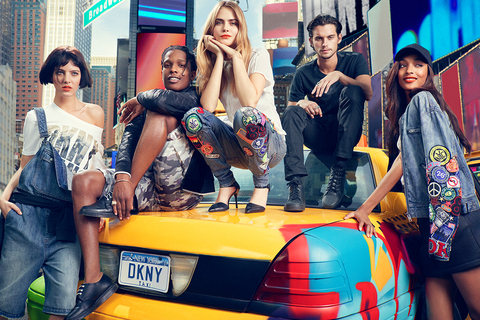 DKNY Spring/Summer 2014 Campaign