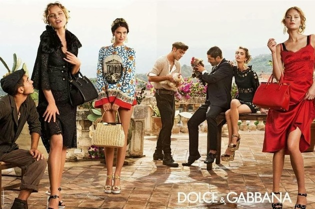 Dolce   Gabbana Spring 2014 Campaign
