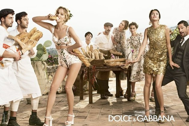 Dolce   Gabbana Spring Summer 2014 Campaign