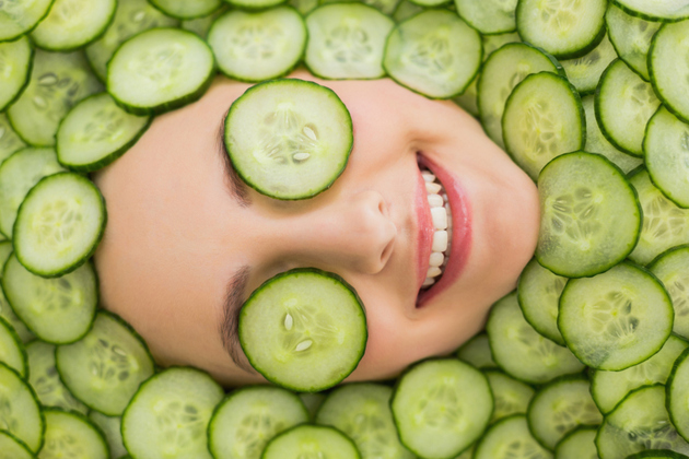 Cucumber Skin Treatment