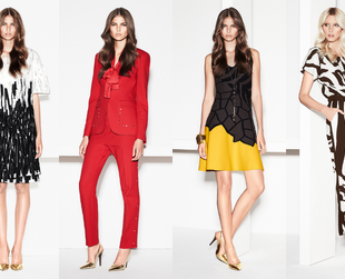 Have a look at the stunning new season ensembles put together by Escada in its new spring/summer 2014 collection.