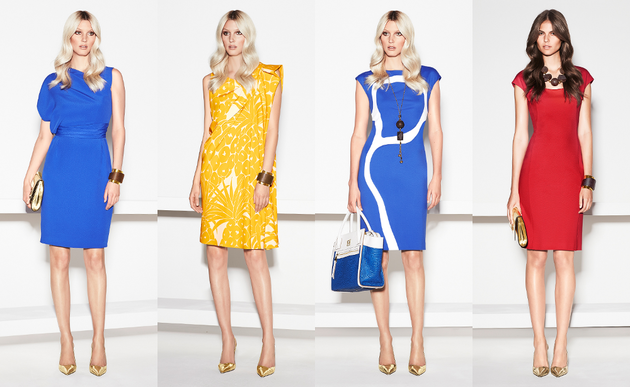 Escada Spring 2014 Collection Set (4)