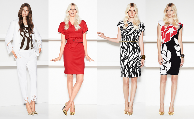 Escada Spring 2014 Collection Set (5)