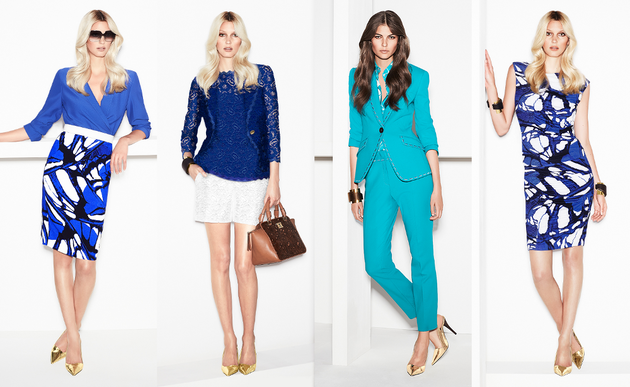 Escada Spring 2014 Collection Set (8)