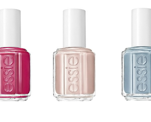 If you love pretty pastel nail polish tones, you should definitely take a closer look at the new Essie Hide & Go Chic spring 2014 collection.
