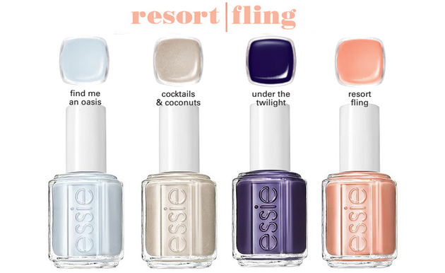 Essie Resort 2014 Nail Polish Shades