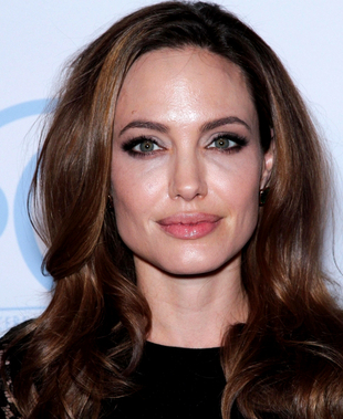 Angelina Jolie Upturned Eyes