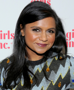 Mindy Kaling Deep Set Eyes