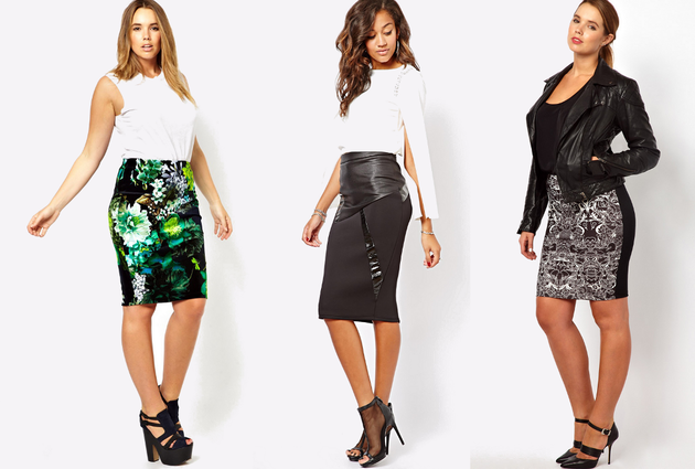 Pencil Skirts For Petite Curvy Women