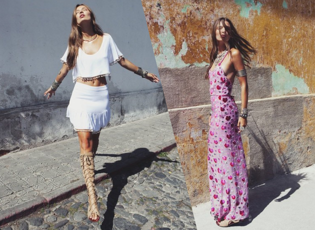 For Love and Lemons Spring 2014 Collection