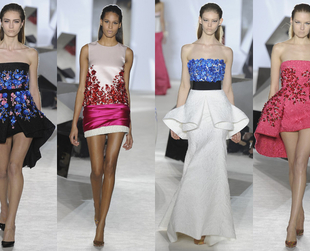 Have a look at the astonishing Giambattista Valli spring 2014 couture creations and prepare to be irremediably mesmerized!