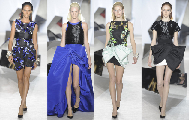 Giambattista Valli Spring Summer 2014 Couture Collection