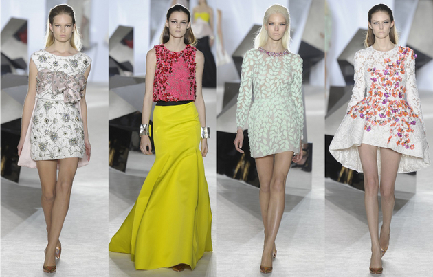 Giambattista Valli Spring 2014 Couture Collection