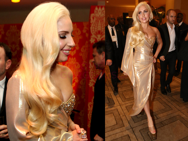 Lady Gaga 2014 Golden Globes After Party