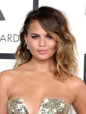 Chrissy Teigen Grammy Awards 2014 Hair