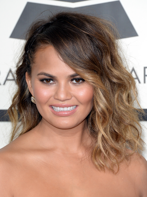 Chrissy Teigen Grammy Awards 2014 Makeup