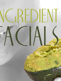 Great One Ingredient Facials