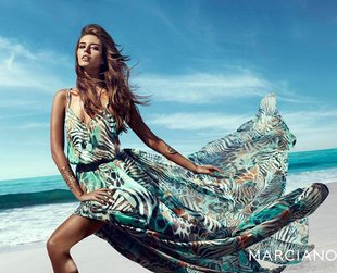 Sexy, flirty and absolutely glamorous...this is how the Guess by Marciano spring 2014 collection can be best described. Check out the ads!