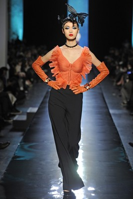 Jean Paul Gaultier Couture Spring 2014 Look  (5)
