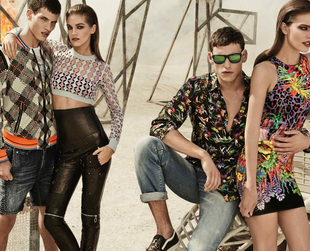 Prints paradise! This is how the new cool Just Cavalli campaign for spring/summer 2014 can be best described. Take a look at the label's coolest new season looks!