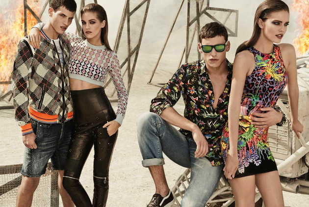 Just Cavalli Spring Summer 2014 Ad Campaign