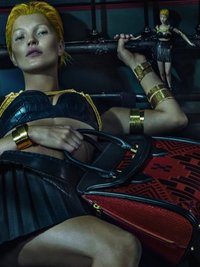 Kate Moss for Alexander McQueen Spring 2014 Campaign