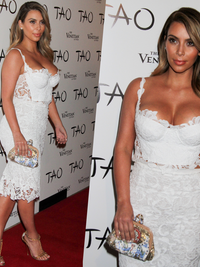 Kim Kardashian's Post Holiday Diet