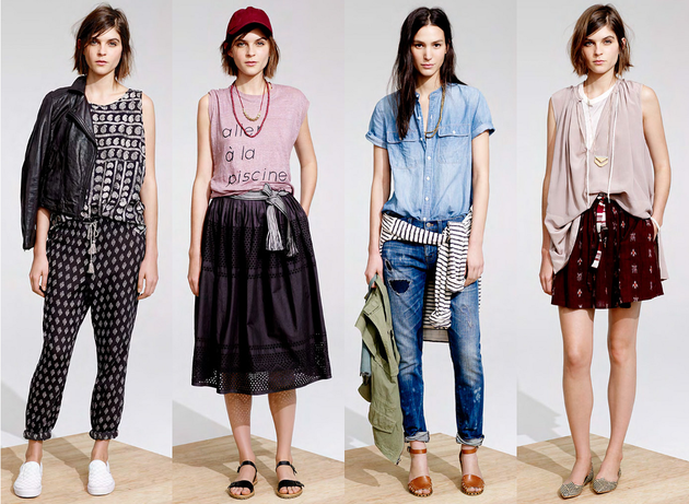 Madewell Spring Summer 2014 Lookbook