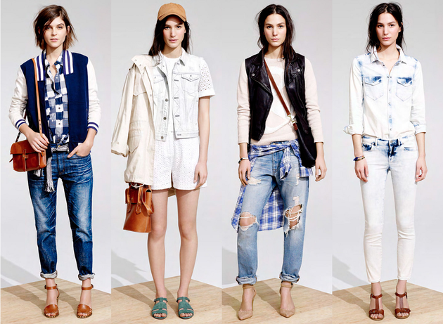 Madewell Spring/Summer 2014 Lookbook