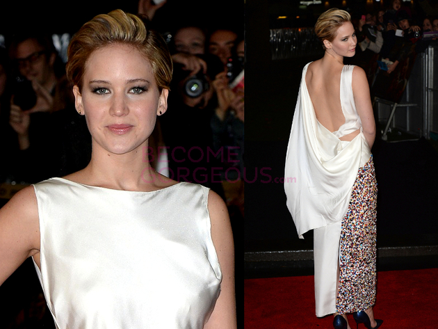 Jennifer Lawrence The Hunger Games Premiere