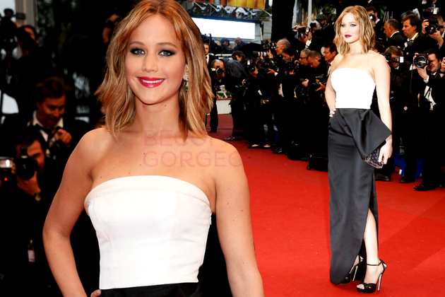 Jennifer Lawrence Dior Dress Cannes Festival