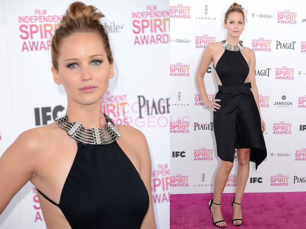 Jennifer Lawrence 2013 Independent Spirit Awards