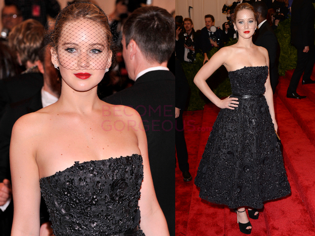 Jennifer Lawrence 2013 Met Gala