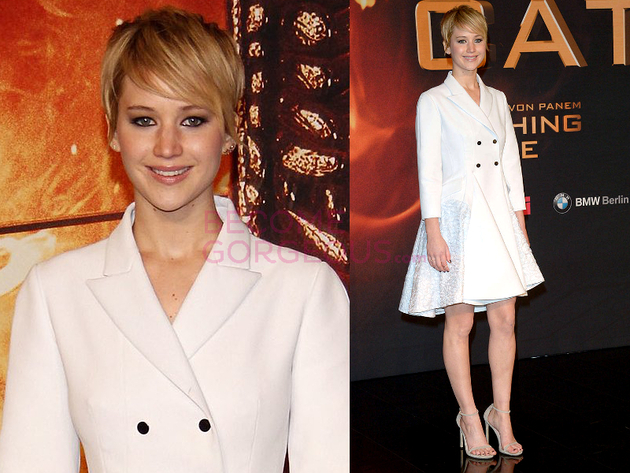 Jennifer Lawrence The Hunger Games Germany Premiere