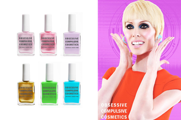 Obsessive Compulsive Cosmetics Sprimng 2014 Nail Lacquers