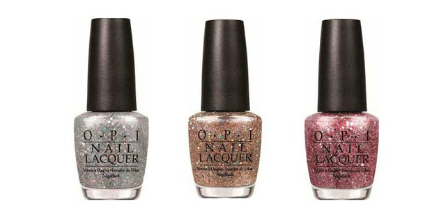 Opi Spotlight On Glitter 2014 Shades