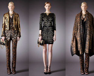 Have a look at the print-tastic Roberto Cavalli pre-fall 2014 collection!