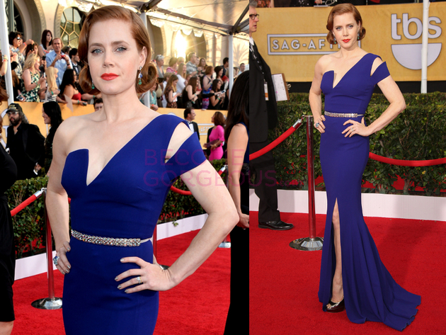 Amy Adams 2014 Screen Actors Guild Awards
