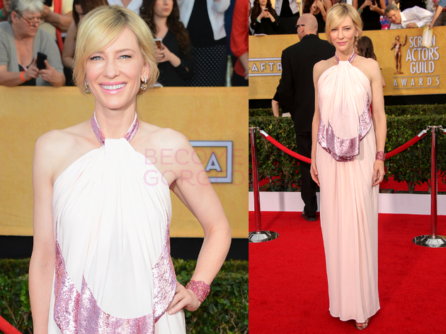Cate Blanchett 2014 Screen Actors Guild Awards