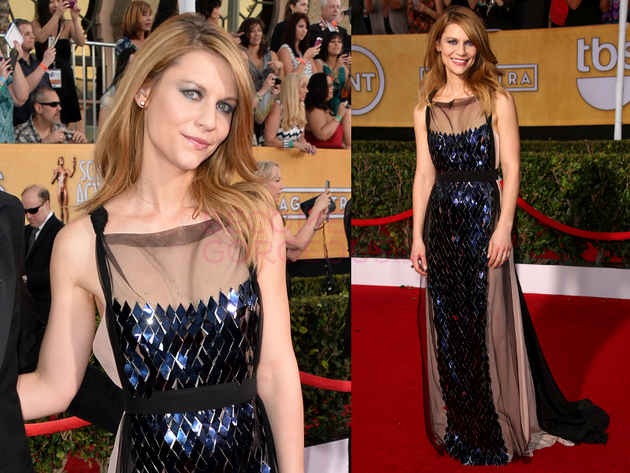 Claire Danes 2014 Screen Actors Guild Awards