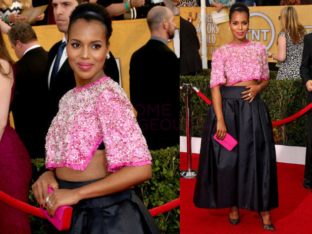Kerry Washington 2014 Screen Actors Guild Awards